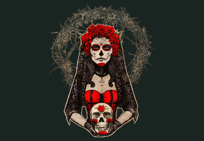 Lady of the Dead  Artwork