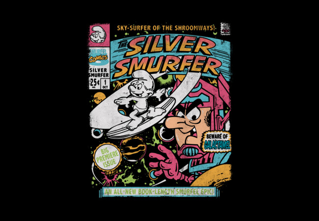 The Silver Smurfer  Artwork