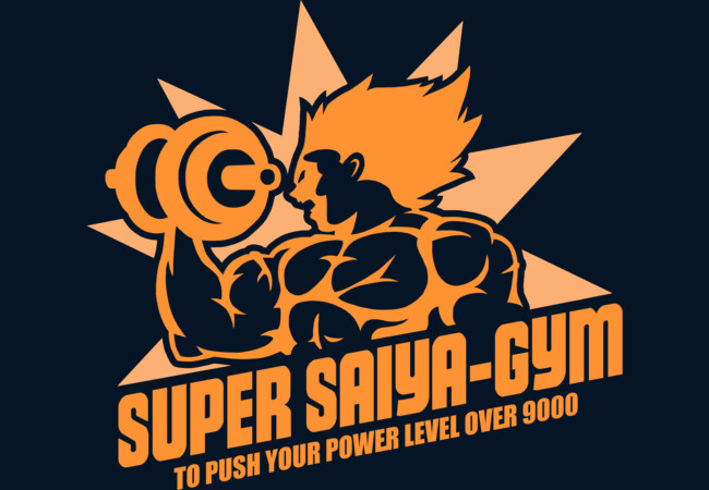 Super Saiya-Gym  Artwork