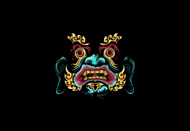 Chinese mask  Artwork