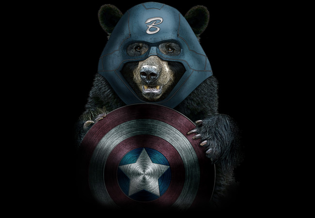CAPTAIN BEAR  Artwork