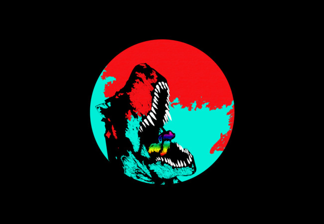 T-rex Splash  Artwork