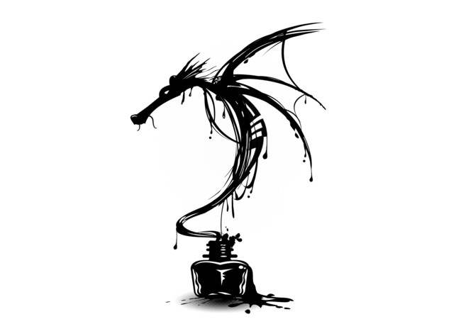 Ink Dragon  Artwork