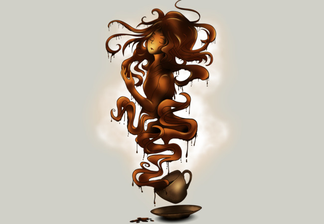 a cup of coffee  Artwork