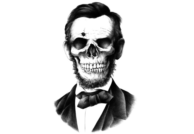 Lincoln Skull  Artwork