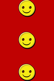 3 Smiley Buttons