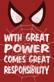 With great power...