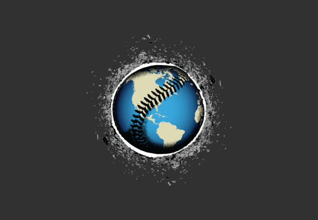 It's A Baseball World  Artwork
