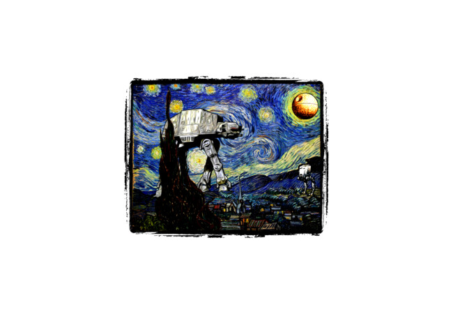 Starry Night versus the Empire  Artwork