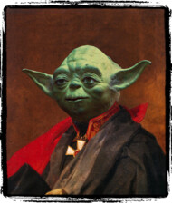 Portrait of Master Yoda