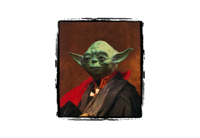 Portrait of Master Yoda  Artwork