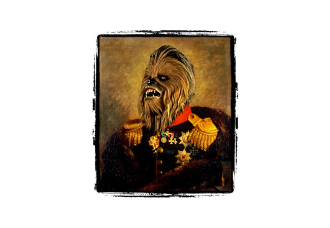 Portrait of Master Chewie