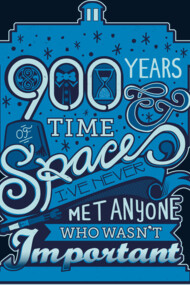 900 Years of Time and Space, two-color