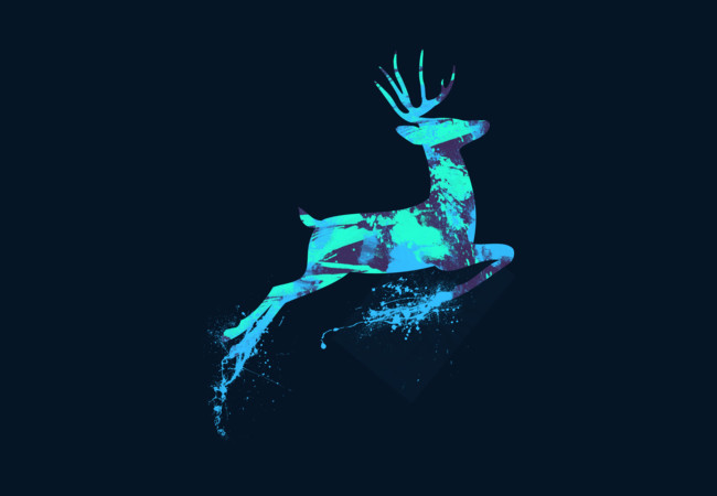 Oh deer!  Artwork