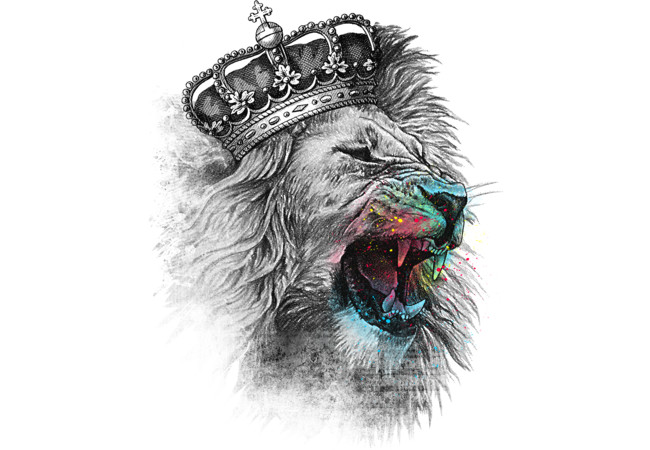 King Lion  Artwork