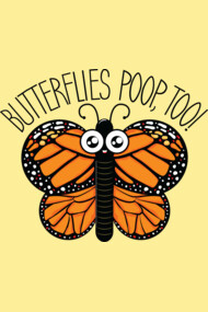 Butterflies Poop, Too!