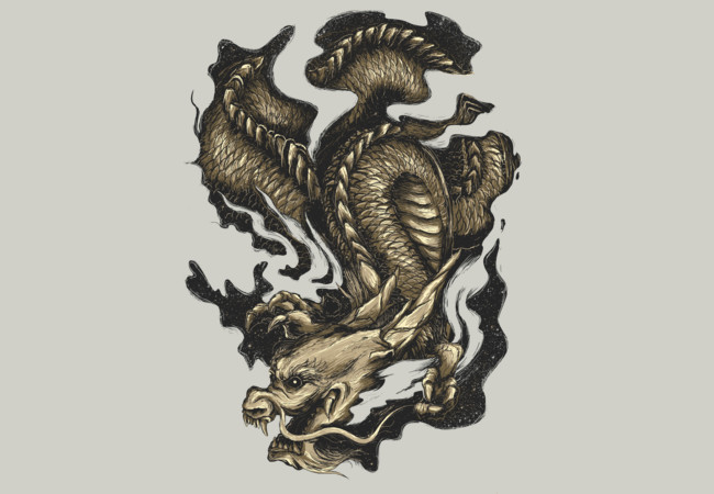 Golden Dragon  Artwork