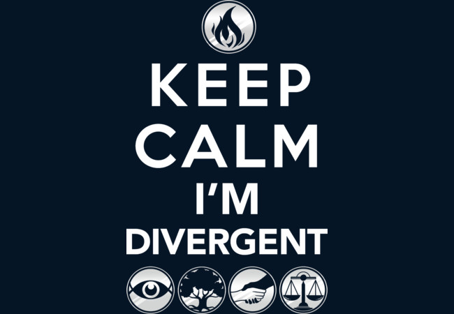 Keep Calm, I'm Divergent  Artwork