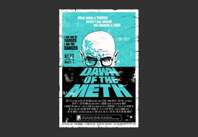 Dawn of the Meth  Artwork