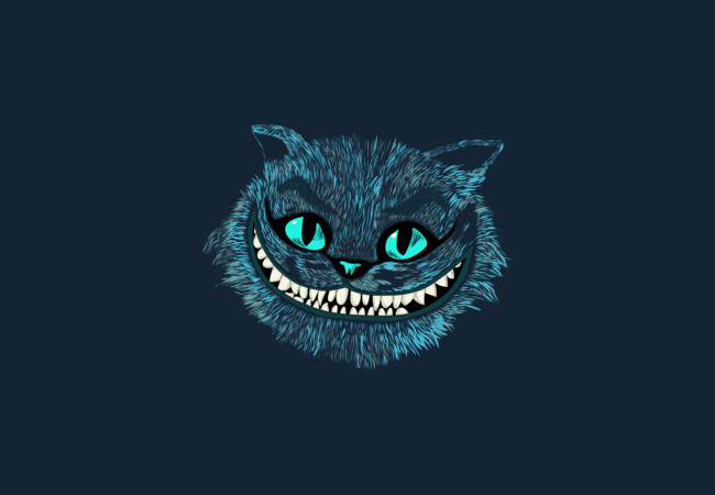 Cheshire Cat blue  Artwork