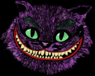 Cheshire cat Head in the Joker