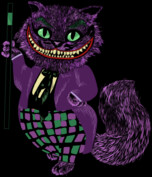 Cheshire cat in the Joker