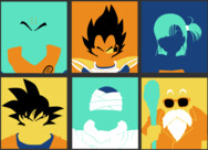 Dragon Ball Pop Art