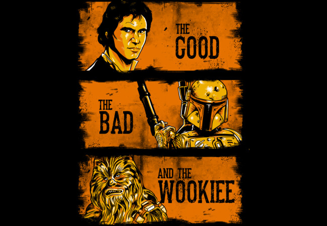 The good, the bad and the wookiee  Artwork