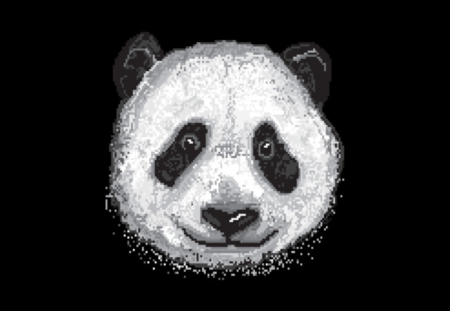 Pixel Panda  Artwork