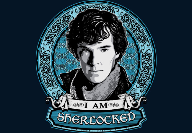 I Am Sherlocked  Artwork