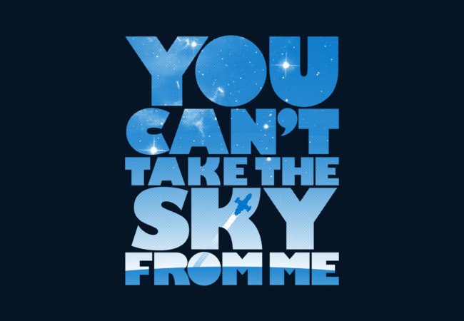 You Can't Take The Sky  Artwork