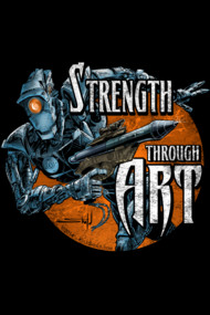 Strength Through Art - Digital - Distressed