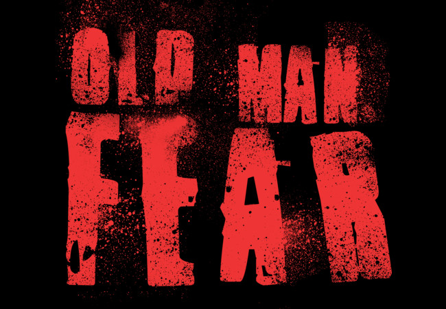 Old Man Fear (Blood Red)  Artwork