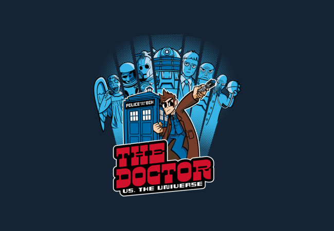 The Doctor VS. The Universe  Artwork
