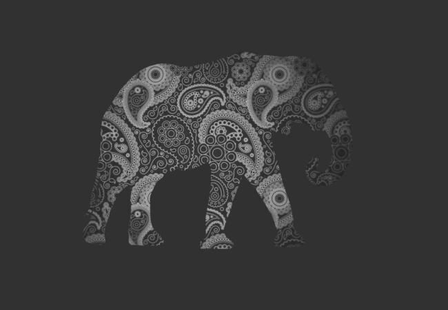 Paisley Elephant  Artwork