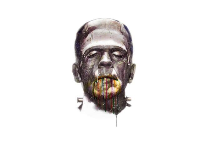 Frankenstein  Artwork