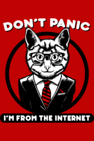 Don't Panic - I'm From The Internet