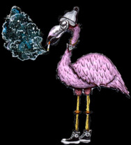 Smokin Flamingo