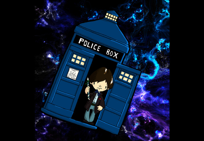 TARDIS in SPACE doctor who 2  Artwork