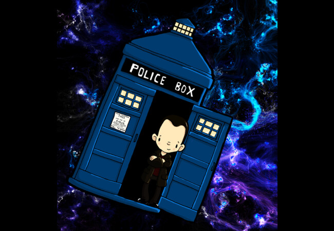 TARDIS in SPACE doctor who 9  Artwork
