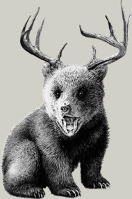 the teddy-bear-deer