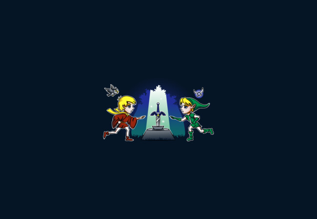 Master Sword in the Stone  Artwork