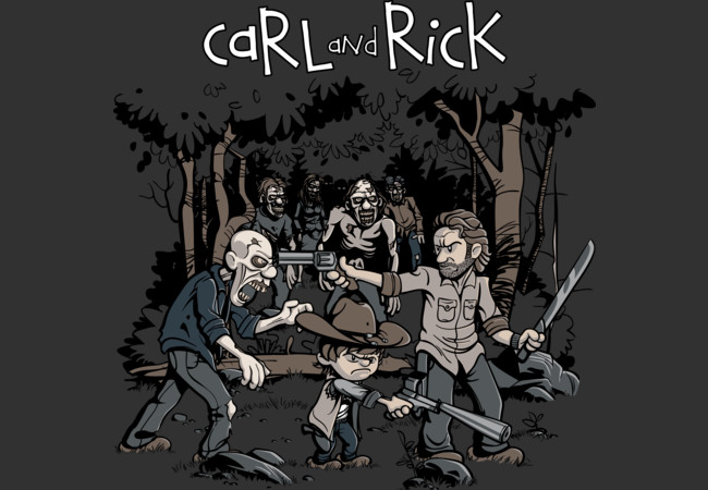 Carl and Rick  Artwork