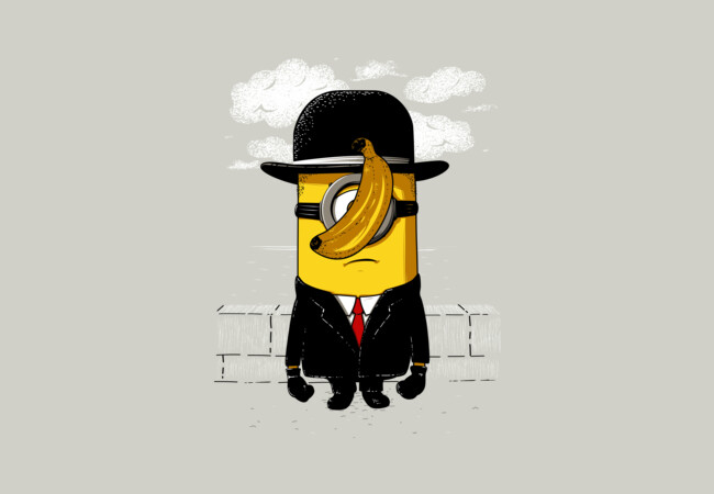 Minion magritte  Artwork