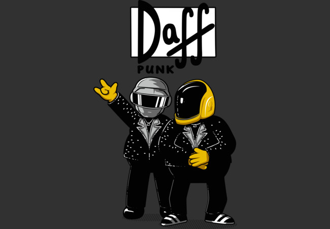 Daff Punk  Artwork