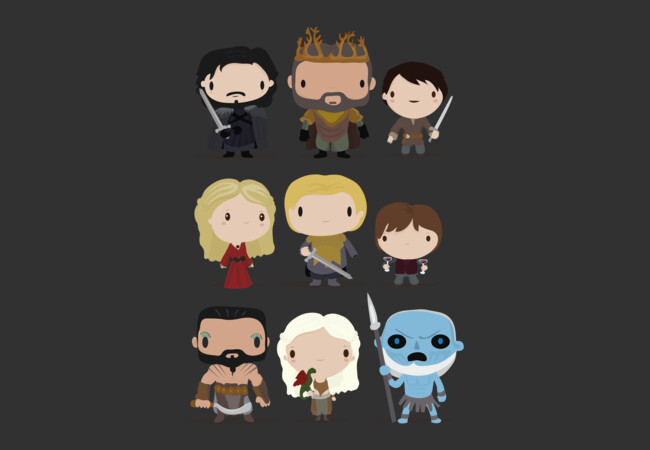 Game of thrones characters  Artwork