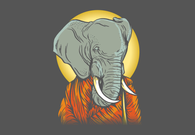 The Enlightened Elephant  Artwork