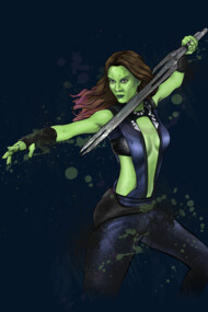 Guardians of the Galaxy - Gamora