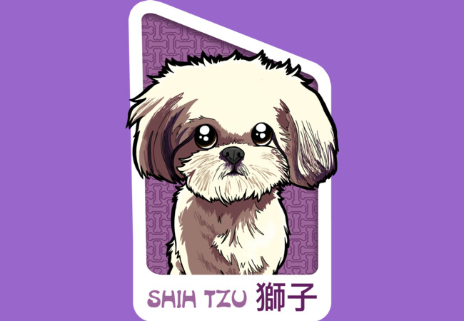 Shih Tzu  Artwork