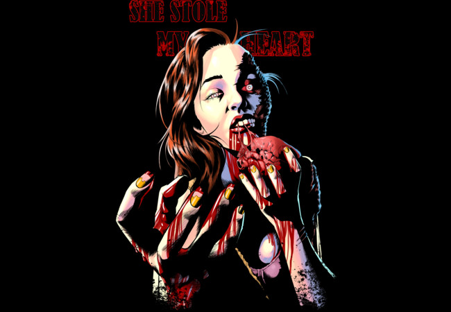 Zombie love  Artwork
